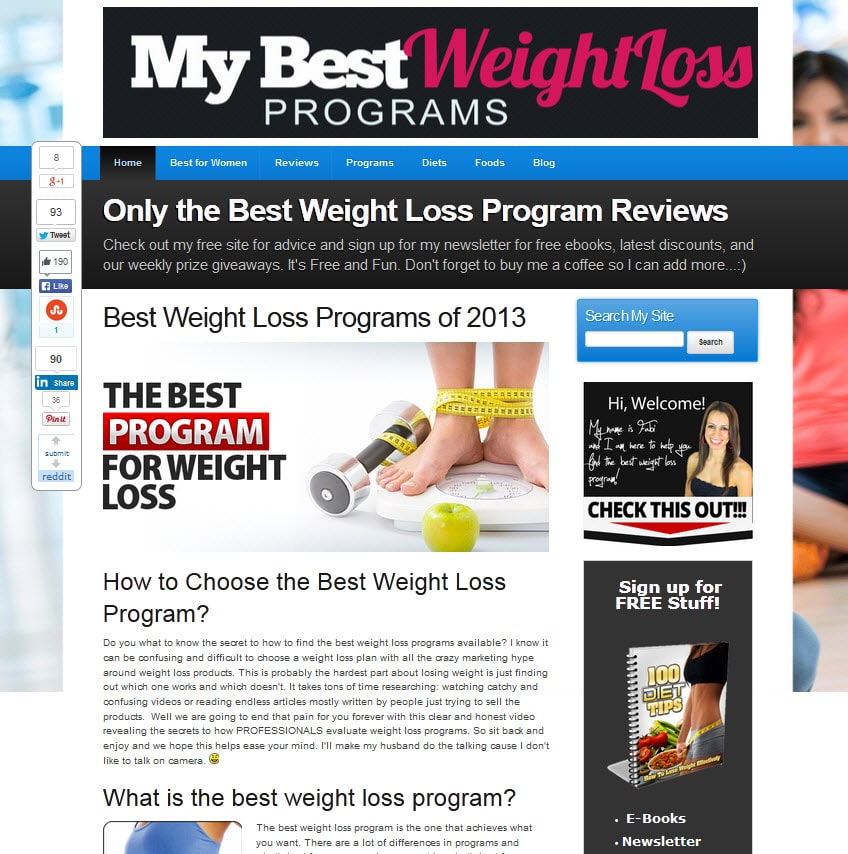 programs for weight loss benefits