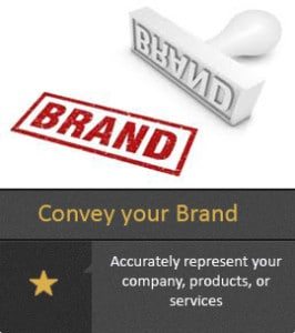 Convey your Brand